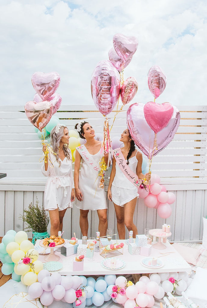Pastel Bridal Shower Picnic Brisbane