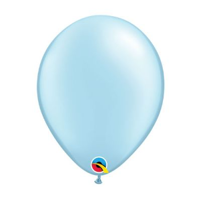 Pearl Light Blue Balloon (28cm)