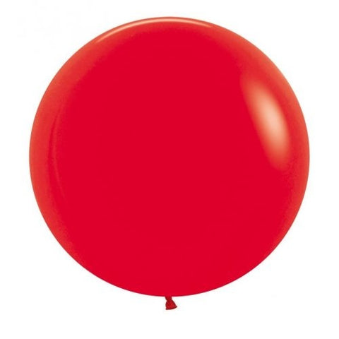 Bright Red Midi 60cm Balloon