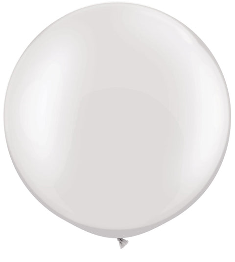 Jumbo White Balloon