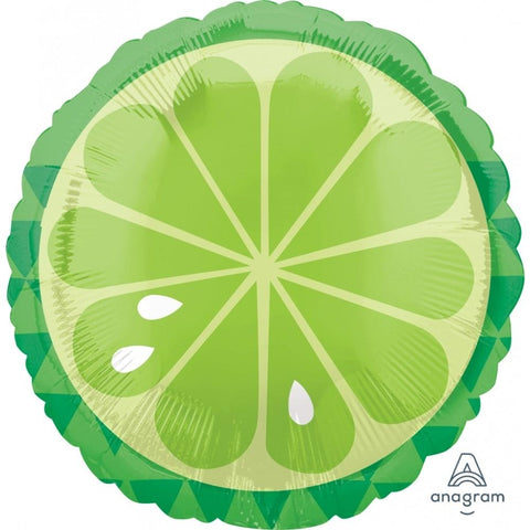 "Tropical Lime 18"" Foil Balloon"