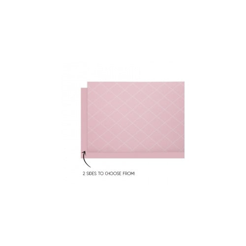 Pastel Pink Table Runner