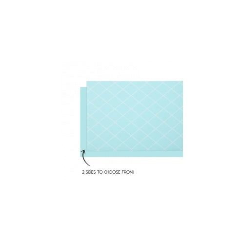 Pastel Blue Table Runner