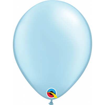 Large Pearl Light Blue Balloon