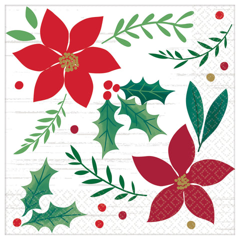 Christmas Wishes Cocktail Napkin (16pk)