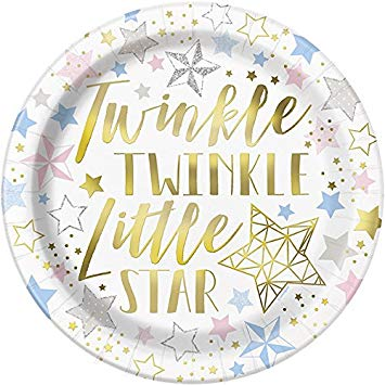 Twinkle Star Luncheon Plate