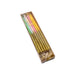 Tall Rainbow Glitter Candle (12pack)
