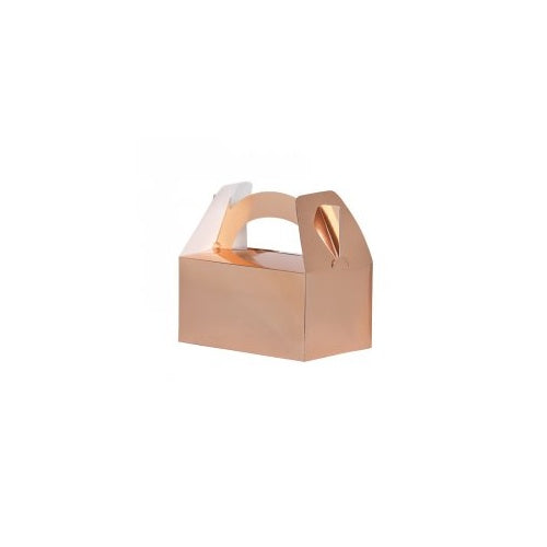 Metallic Rose Gold Lunch Box (5pk)