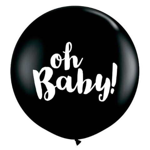 Jumbo Oh Baby! Gender Reveal Balloon (90cm)