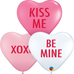 Mini Conversation Heart Balloons (12 Pack)