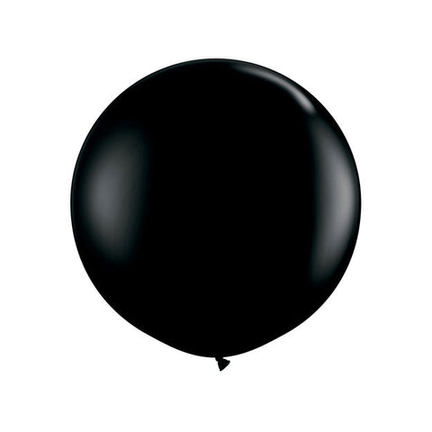 Jumbo Black Balloon (90cm)