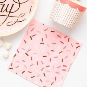Sprinkles Napkins - Cake by Courtney
