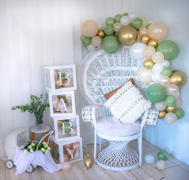 Eucalyptus Mini Balloon Garland Kit