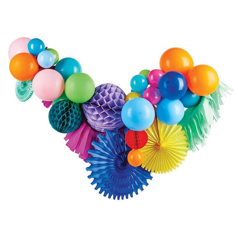 Happy Rainbow Fancy Balloon Garland