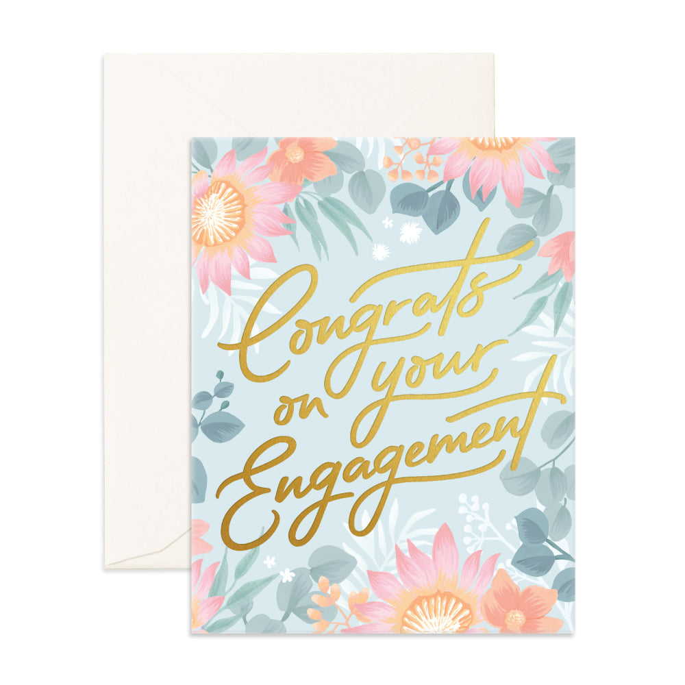 Congrats on Engagement Card