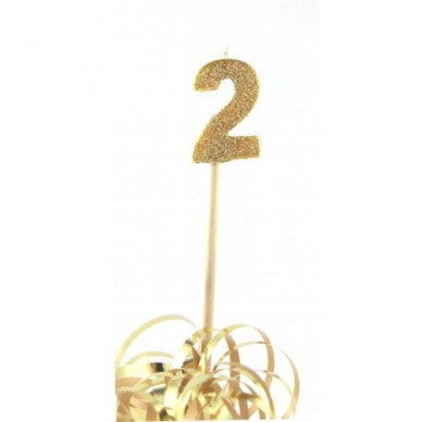 Gold Glitter No. 2 Candle