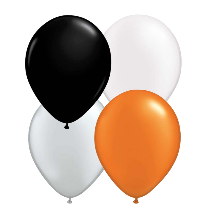 Mini Halloween Mix Balloons (10 Pack)