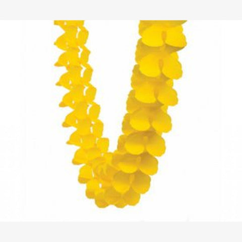 Yellow Honeycomb Garland