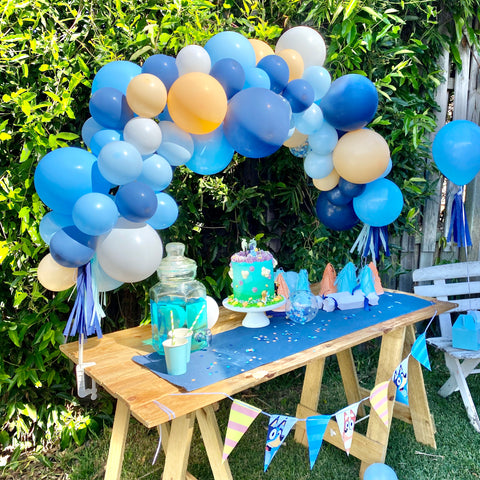 Bluey Mini Balloon Garland Kit