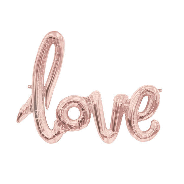 Script Love - Rose Gold (40inches)
