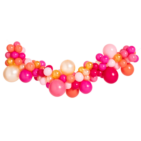 Pink Shimmer Mini Balloon Garland