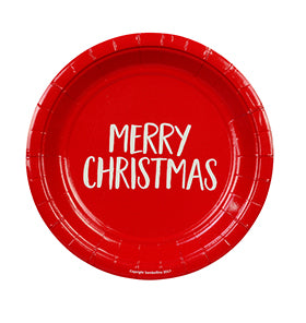 Merry Christmas Cake Plate (12pack)