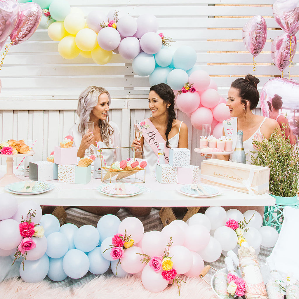 Pearl Pastel Mini Balloon Garland