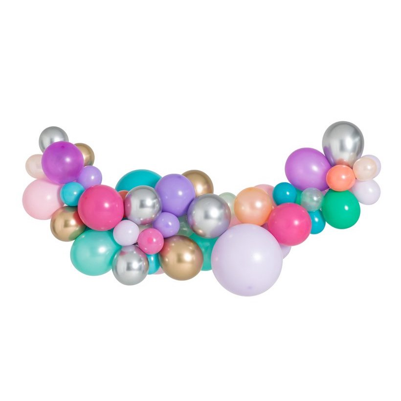 Mermaid Medium Balloon Garland