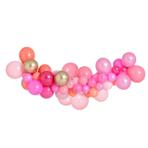 Pink Shimmer Medium Balloon Garland