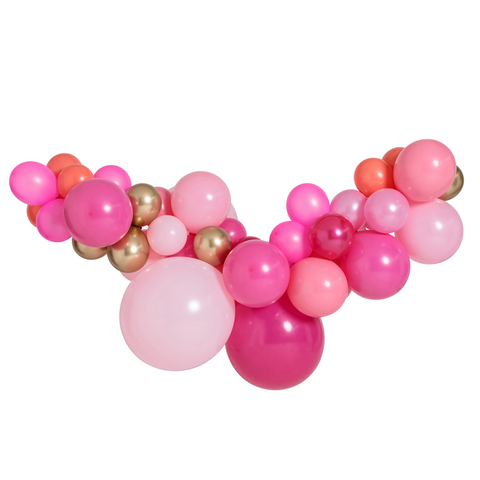 Pink Shimmer Large Balloon Garland