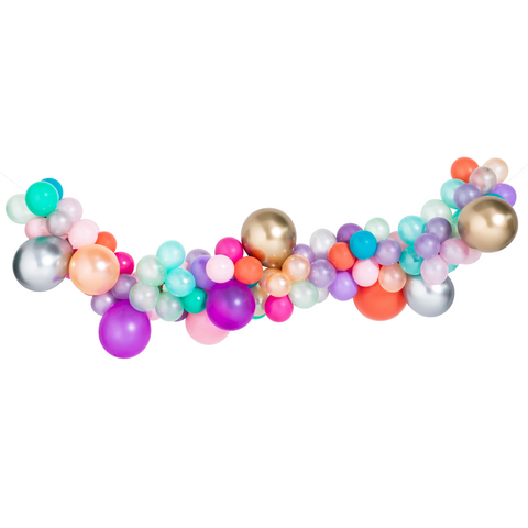 Mermaid Mini Balloon Garland