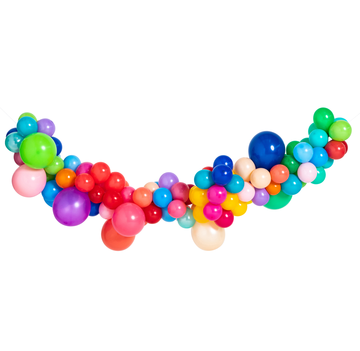 Happy Mini Balloon Garland