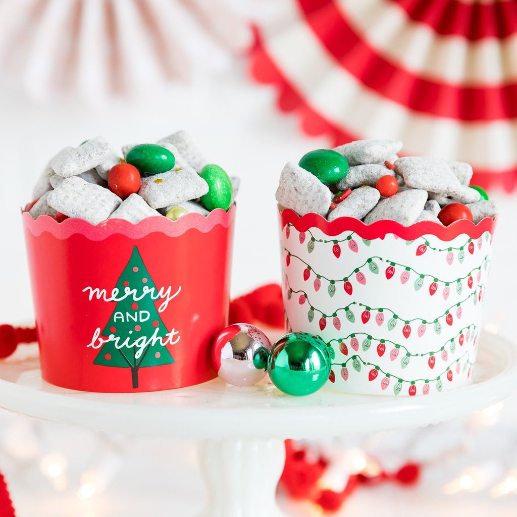 Merry & Bright Baking Cups