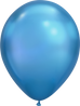 Chrome Blue Balloon