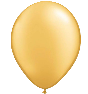 Pearl Yellow Gold Balloon