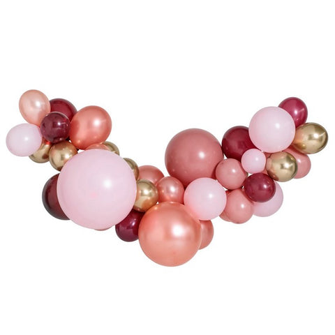 Rosewood Large Balloon Garland