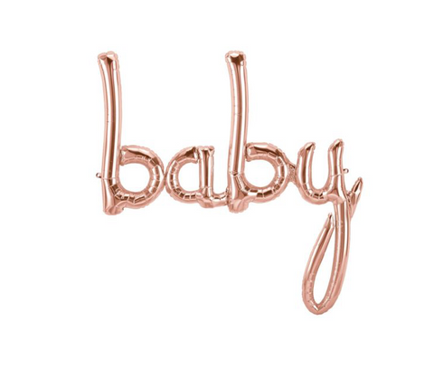 Script baby - Rose Gold