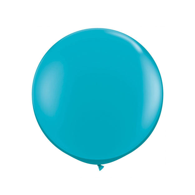 Jumbo Tropical Teal Balloon (90cm)