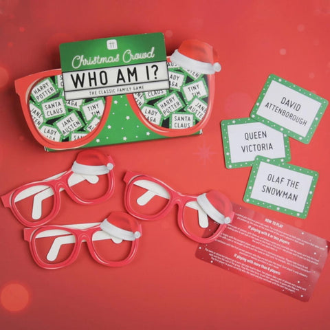 Xmas Who Am I? Family Game