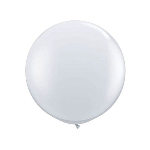 Jumbo Metallic Silver Balloon