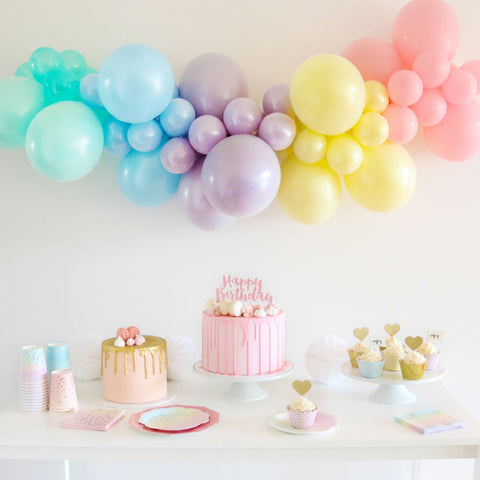 Pastel Mini Balloon Garland Kit