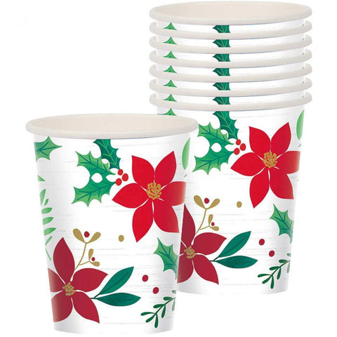 Christmas Wishes Paper Cups (8pack)