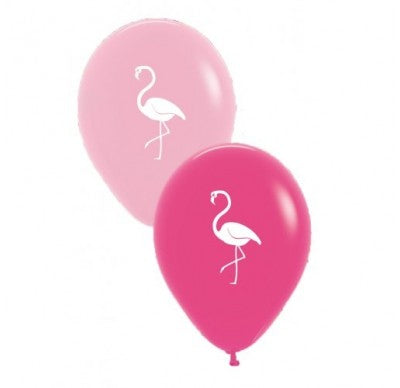 Flamingo Balloons (6 Pack)