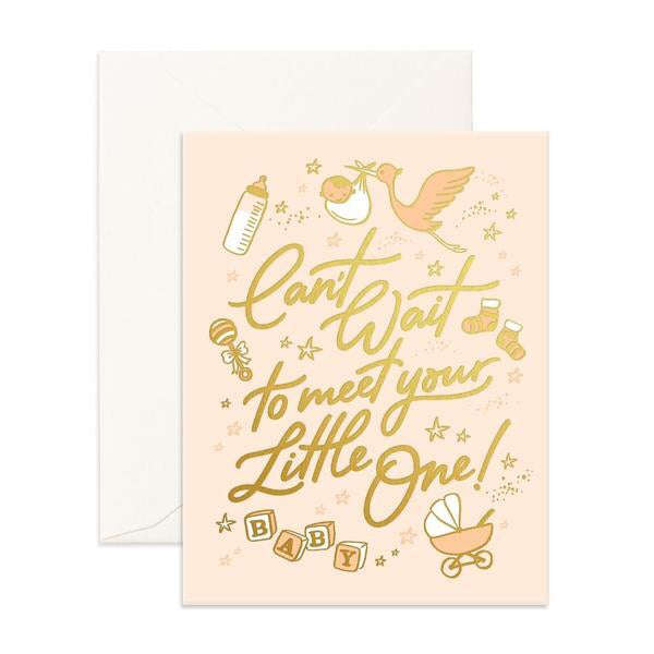 Can't Wait to Meet Your Little One Card