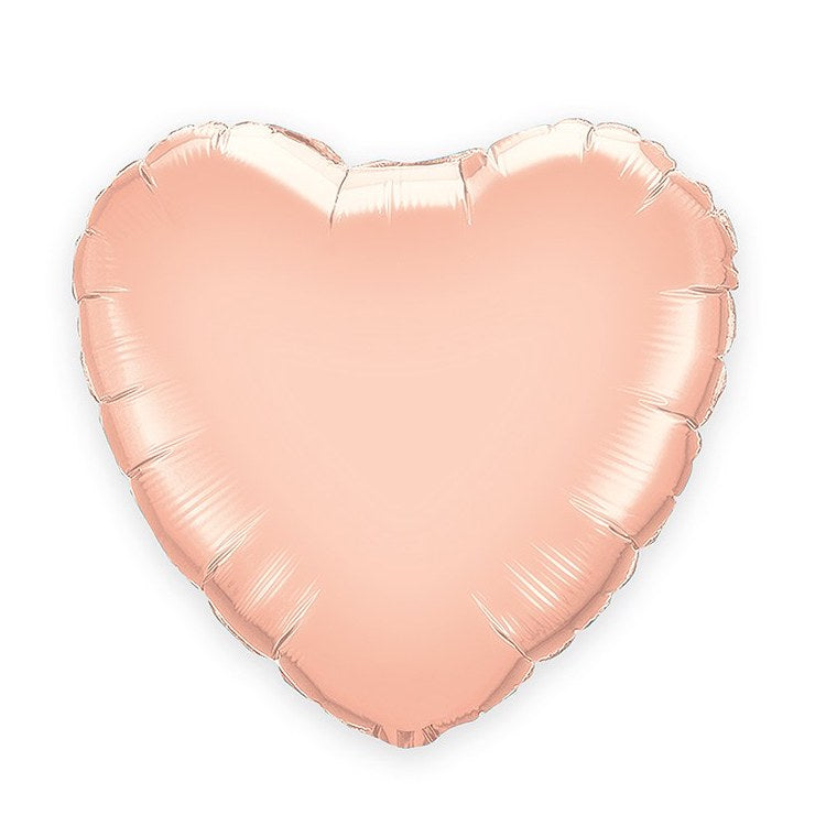 Rose Gold Heart Foil  Balloon (43cm)