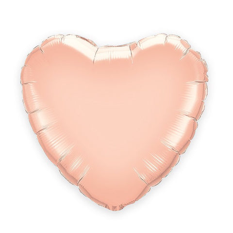Rose Gold Heart Foil  Balloon (46cm)