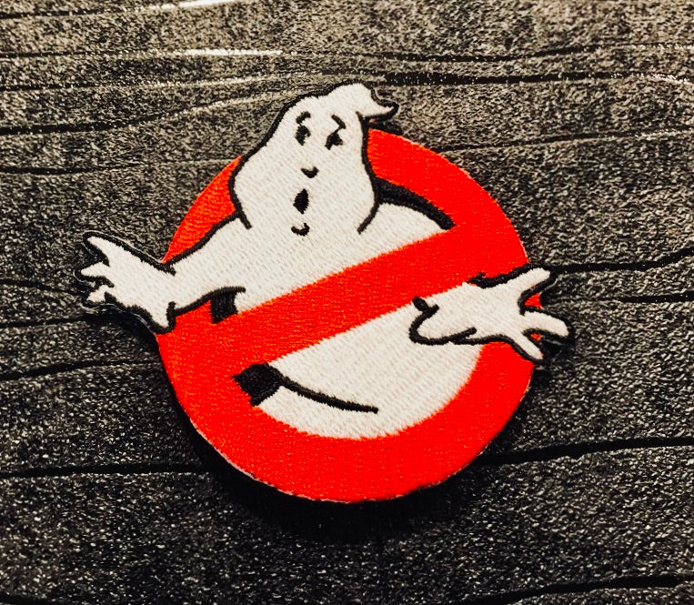 Ghostbusters Embroidered Iron on Patch (60mm x 80mm)