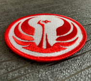 Star Wars Old Republic Embroidered Iron on Patch (75mm)