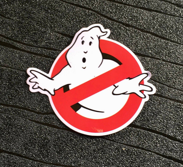 Ghostbusters Sticker Waterproof and UV resistant PVC sticker (60mm x 80mm)