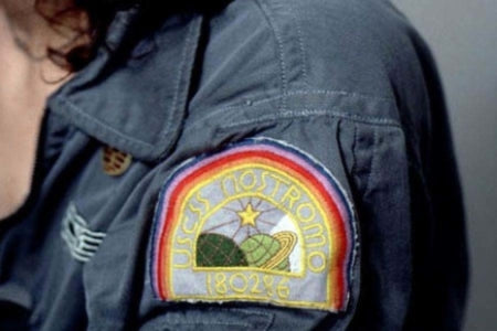 Alien USCSS Nostromo Embroidered Iron On Patch (100mm x 80mm)